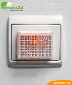 LED control light for demand switches