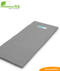 Exurin radiation protection mat against bed-wetting