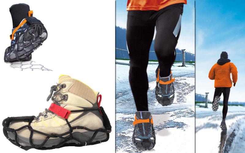 EzyShoes, safety on snow and ice