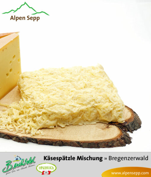 Bregenz Forest cheese noodle mix by Alpen Sepp