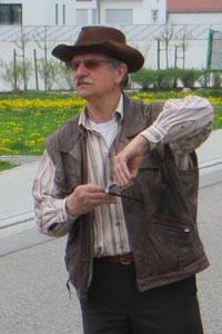 Certified geobiologist, Jiri Polivka