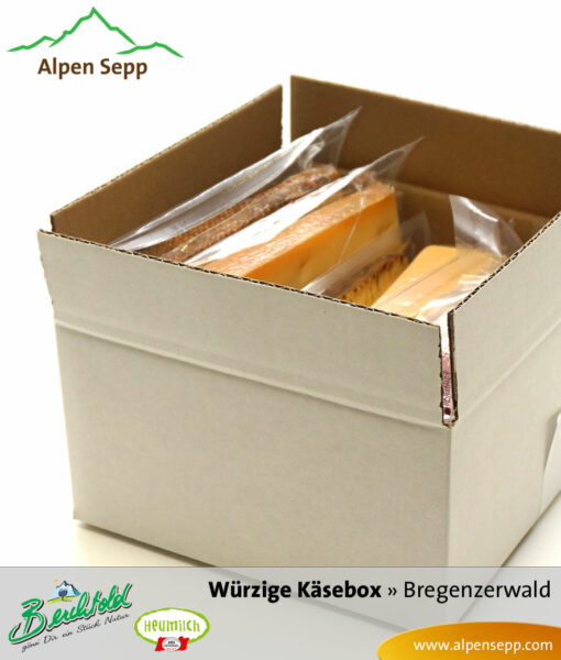 Spicy discovery cheese box by Alpen Sepp