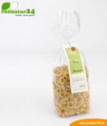 Spelt pasta shells by Susanne Feist