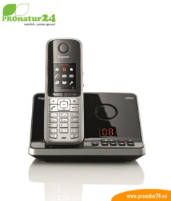 GIGASET S810A cordless telephone with answering machine, low-radiation with ECO-DECT
