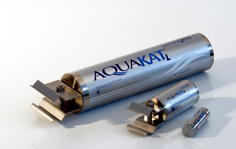 The different sizes and extension levels of the Penergetic Aquakat at a glance.
