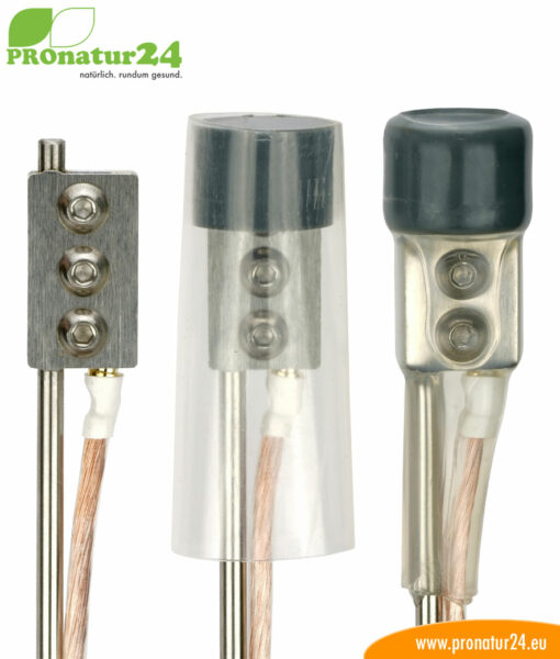 Earthing rod for stationary and mobile use