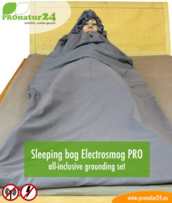 Sleeping bag Electrosmog PRO all-inclusive grounding set