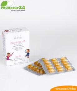 WHC QUATTRO3 + PS – Fish oil complex OMEGA-3 FOR CHILDREN, 60 softgel capsules