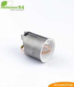 Shielded cavity-wall light connection box, 45mm deep