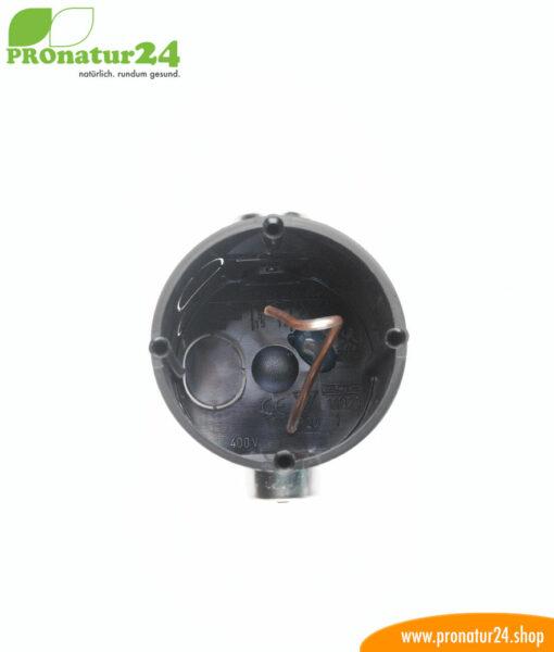 Shielded in-wall box (under plaster), depth 61 mm