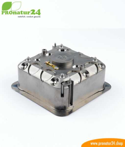 Shielded junction box for dry construction and in-wall mounting, 53mm deep
