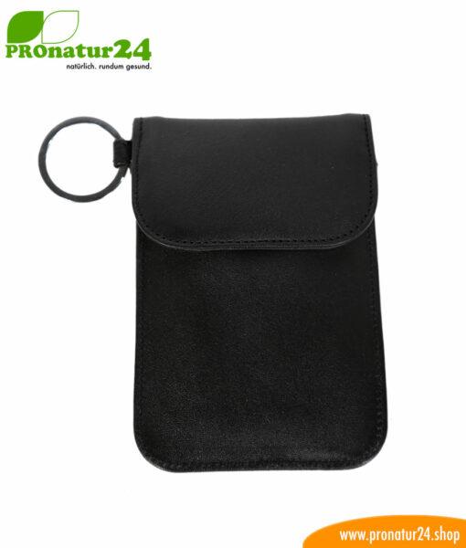 ANTI RFID NFC LEATHER protective car key bag (protective cover against car theft via radio for the Keyless-Go system)