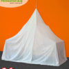 Canopy Electrosmog WIFI for protection from HF electrosmog – pyramid bed