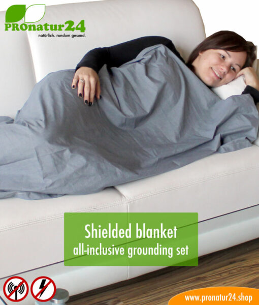 Shielded blanket all inclusive grounding set
