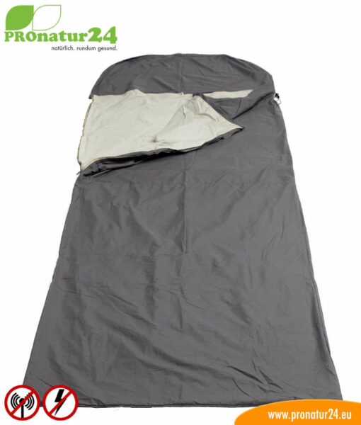 SET OFFER: Electrosmog PRO sleeping bag TSB with grounding accessories – from product testing / used