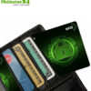 RFID NFC blocker card. Protective card & jammer / data protection for your cards in purses, wallets, and card cases