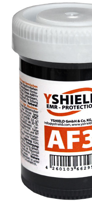 AF3 ADDITIVE with conductive fibers – an alternative to grounding tape (YSHIELD)