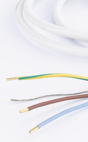 Shielded BIO cable to protect against electric waves (LF)