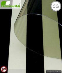 Screening window film RDF72 PREMIUM. Shielding attenuation up to 30 dB against radio radiation HF. Effective against 5G!