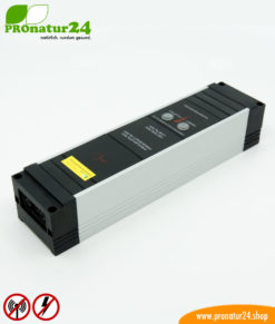 Powerline PLC line filter for the earthable canopy