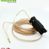 Grounding cable from powerline PLC line filter
