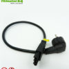 Power cable from powerline PLC line filter