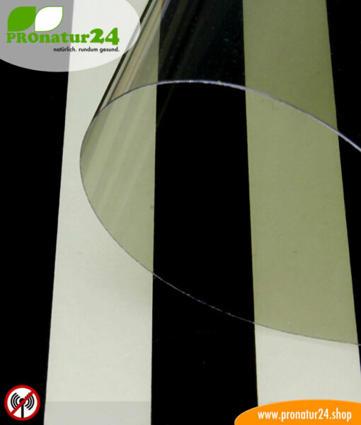 RDF72 PREMIUM shielding window film with up to 30 dB attenuation against radio pollution