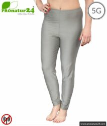 Screening long trousers (underpants). Protection up to 50 dB against HF electrosmog (mobile phones, WIFI, LTE) for electro-sensitive people. Effective against 5G!