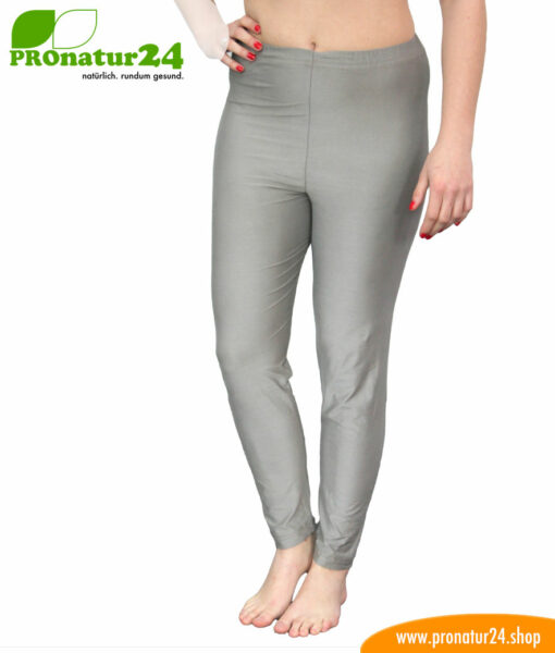 Shielding long trousers (underpants) against electric smog by mobile phone, WIFI, LTE, etc. for electrosensitive people.