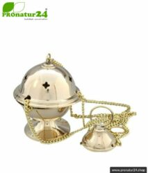 Incense burner hanging censer / Thurible in polished brass