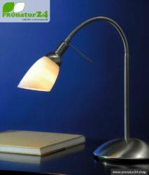 Shielded light shower as table lamp, E14 socket, 40 Watt