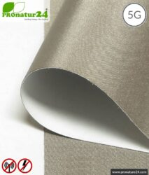 Shielding netting HNS80, self-adhesive   HF shielding attenuation up to 80 dB   90 cm width. Grounding necessary. Effective against 5G!
