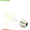 4.2 watts LED Filament Pure-Z-Retro BIO LIGHT | bright as 40 watts, 420 lumen | warm white (2700 Kelvin) | CRI >90, flicker-free (< 1%), E27