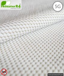 NEW ANTIWAVE shielding fabric | Production of shielding clothing and underwear | >99,9 % shielding effectiveness (33 dB). 5G ready!