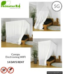Canopy Electrosmog WIFI for 14 days rent and get to know.