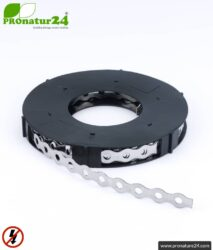 Stainless steel perforated tape | metal strap for grounding of reinforcement fabric, shielding mesh and shielding fleece